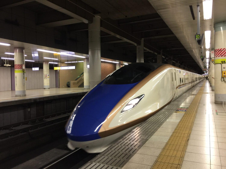 2017年9月長野ディスティネーション旅その1!(まずは長野新幹線!)
