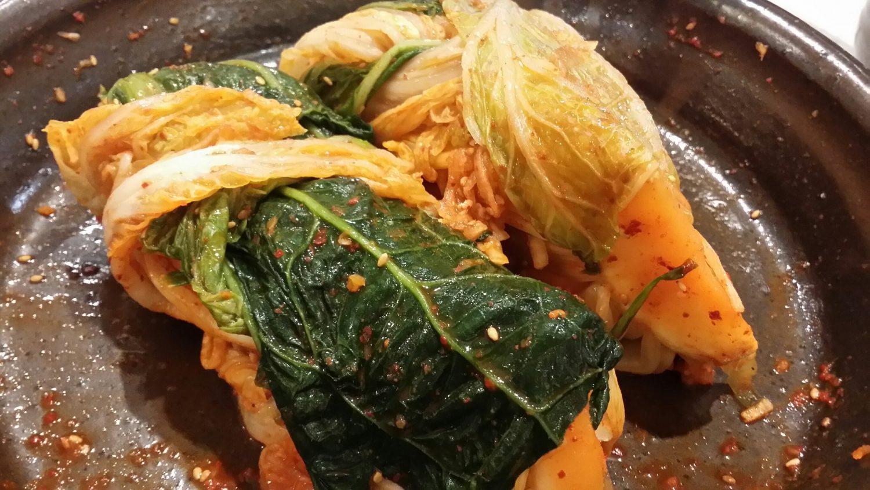 初めての自作キムチ!(白菜の下準備はお店で準備ずみ):チョルチンNのキムチ