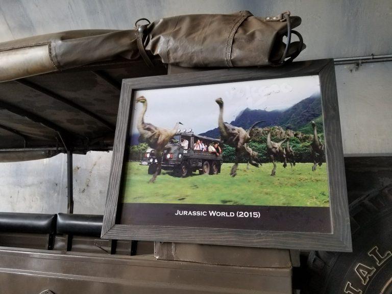 クアロアランチ。映画「ジュラシックワールド」撮影に使われたジープと風景