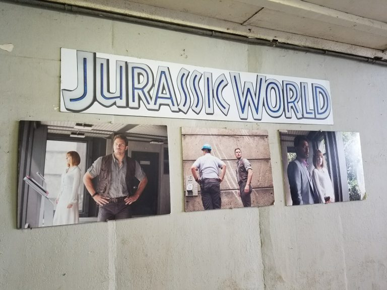 クアロアランチ、映画「ジュラシックワールド」撮影シーン