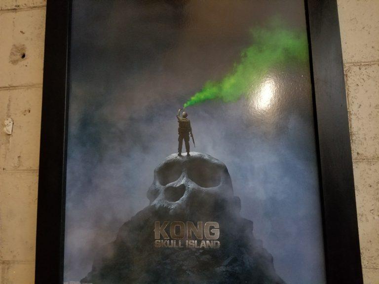 クアロアランチ。映画「キンクコング~髑髏島の巨人~」ポスター