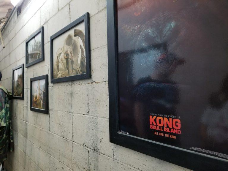 クアロアランチ。映画「キンクコング~髑髏島の巨人~」撮影風景