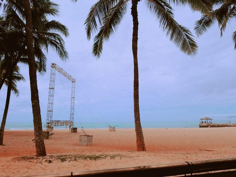 ワイキキビーチ。