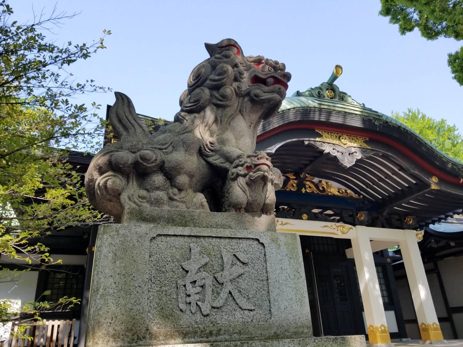 王子神社の狛犬さん