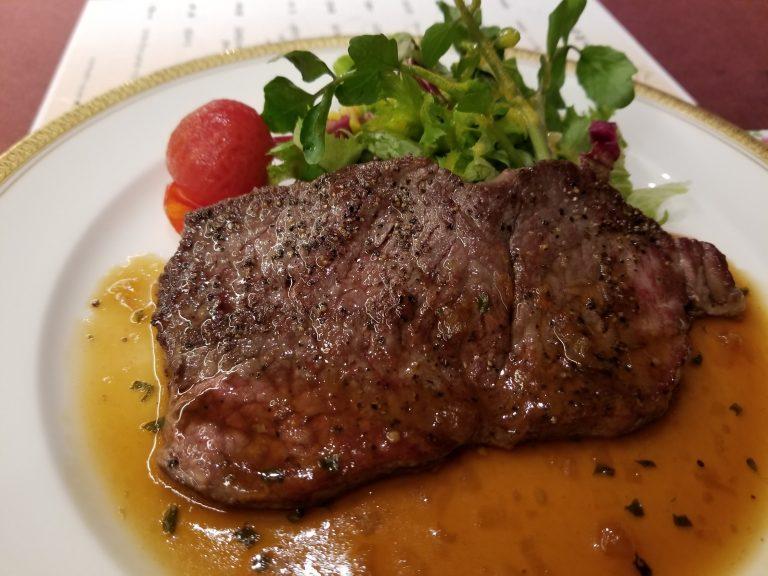 「ナチュラルファームシティ農園ホテル」夜ご飯。お肉!