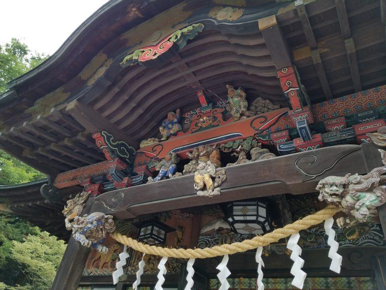 秩父神社拝殿