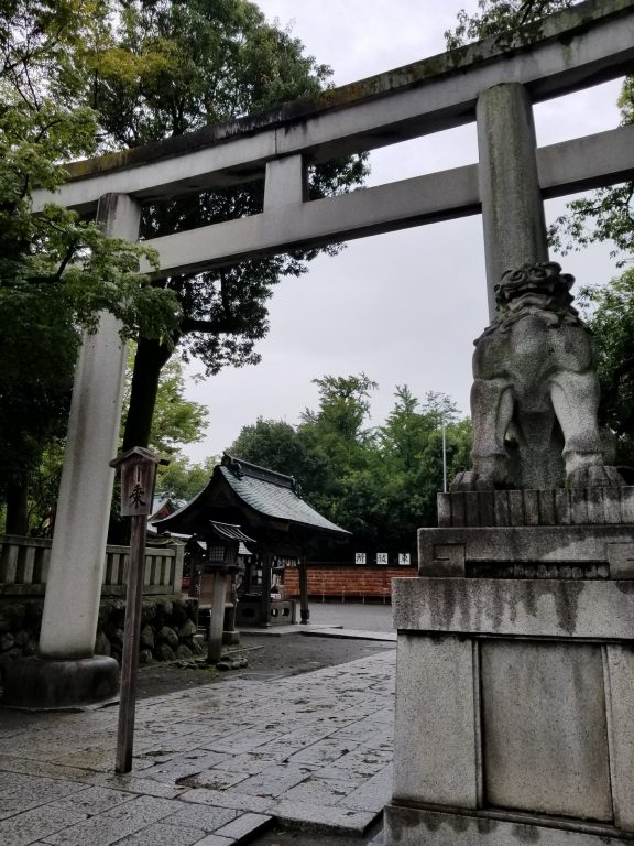 秩父神社の狛犬さん