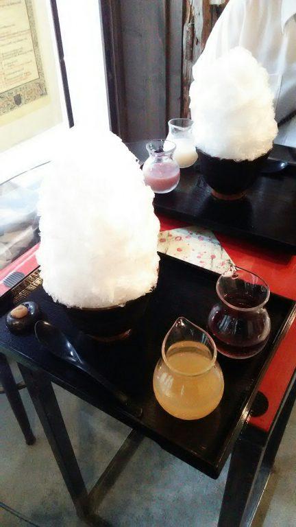 阿左美冷蔵 金崎本店 さんのかき氷!