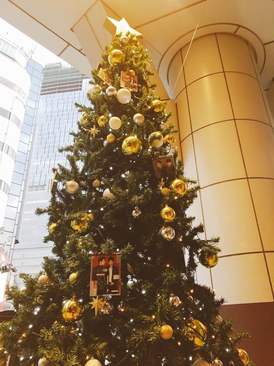 渋谷TSUTAYA東方神起クリスマスツリー