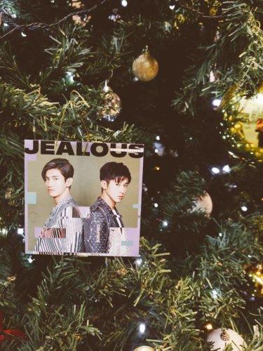 渋谷TSUTAYA東方神起クリスマスツリー:jealous