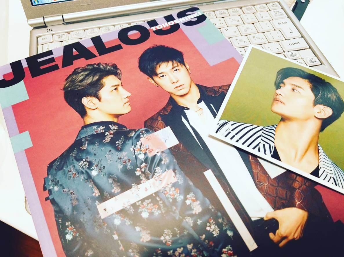 東方神起CD「JEALOUS」ジャケット