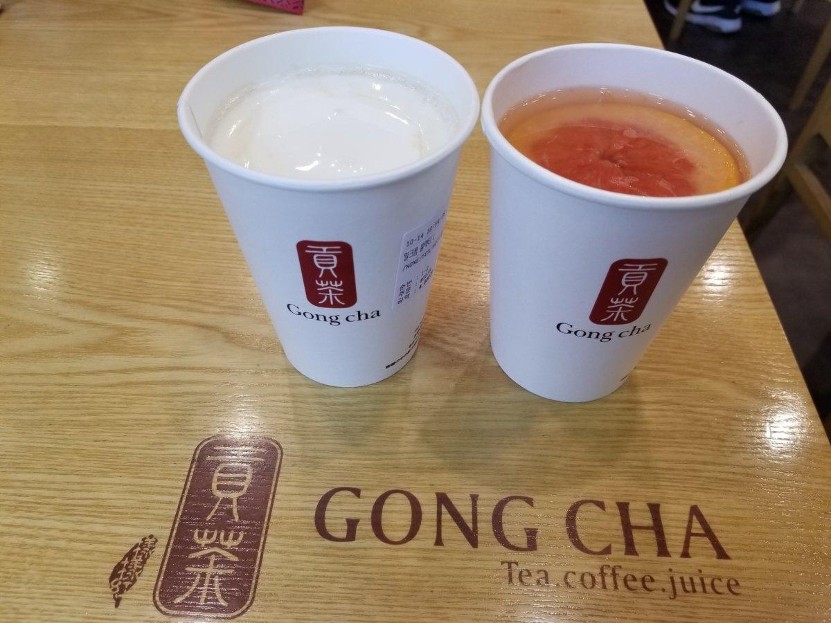 貢茶(GONGCHA)明洞店