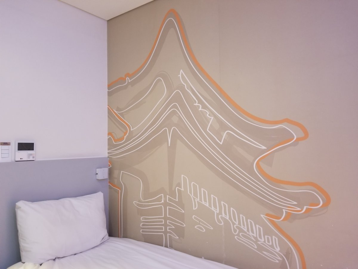 イビスバジェットアンバサダーソウル東大門ホテル :ベッドルーム