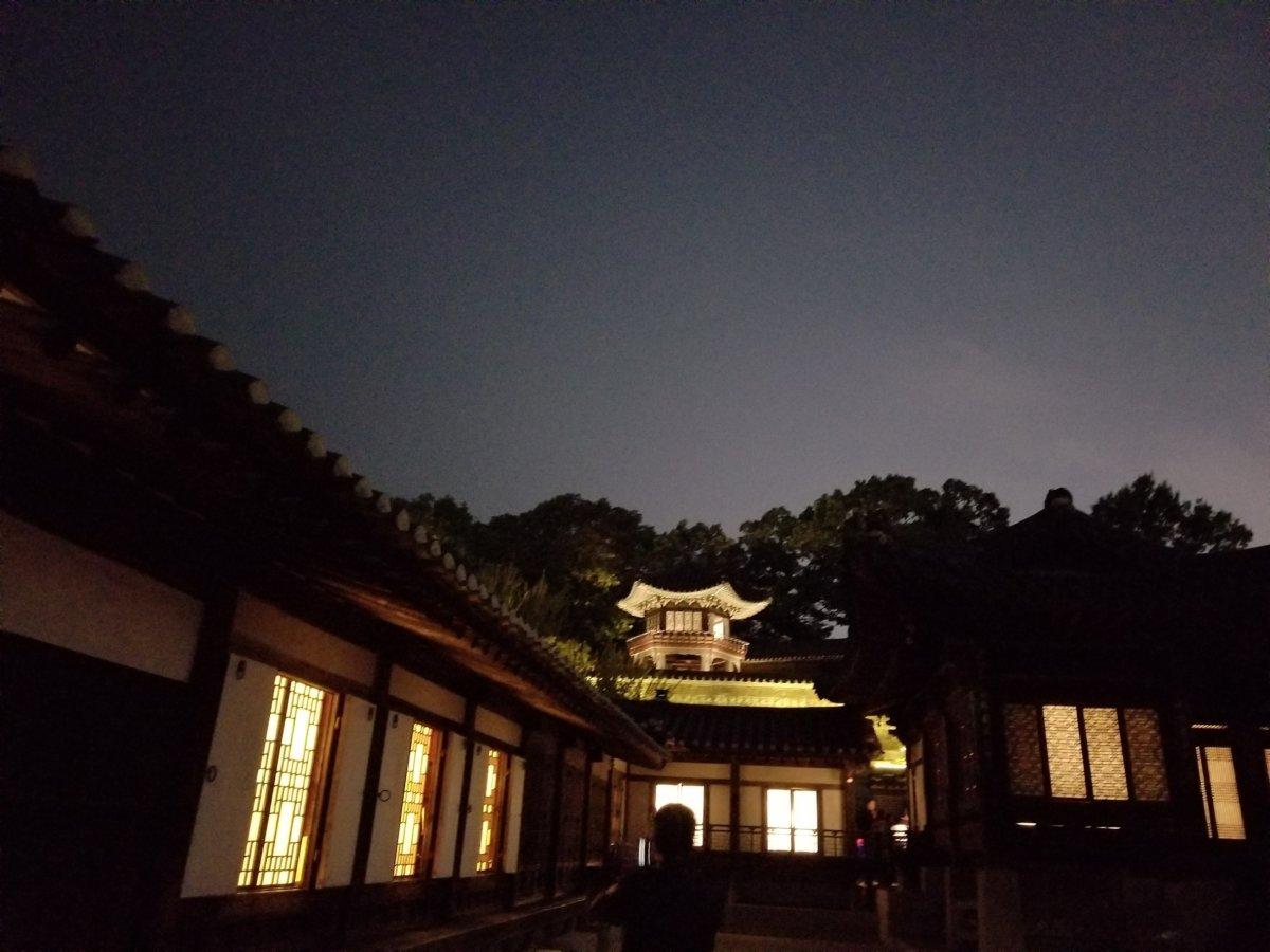 昌徳宮:月灯り紀行