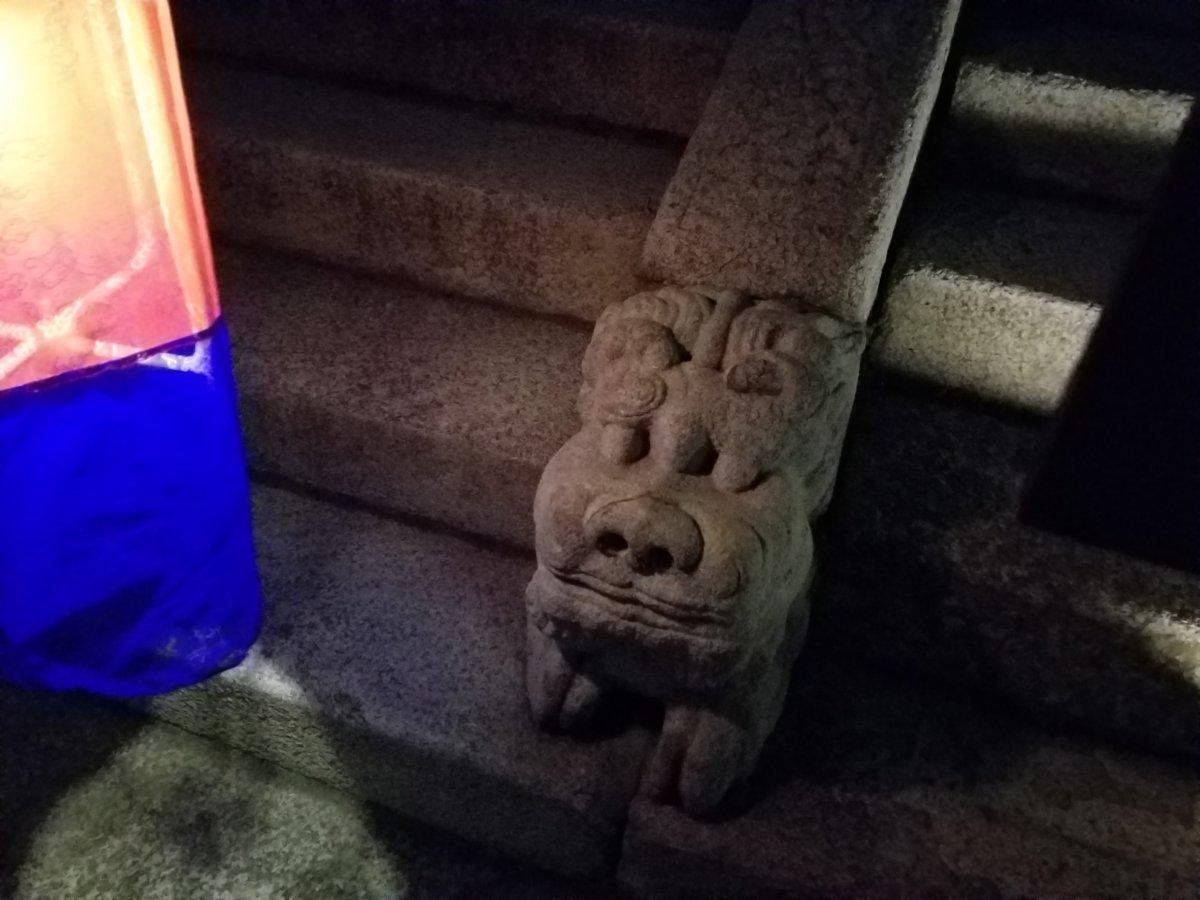 昌徳宮:階段のヘテ