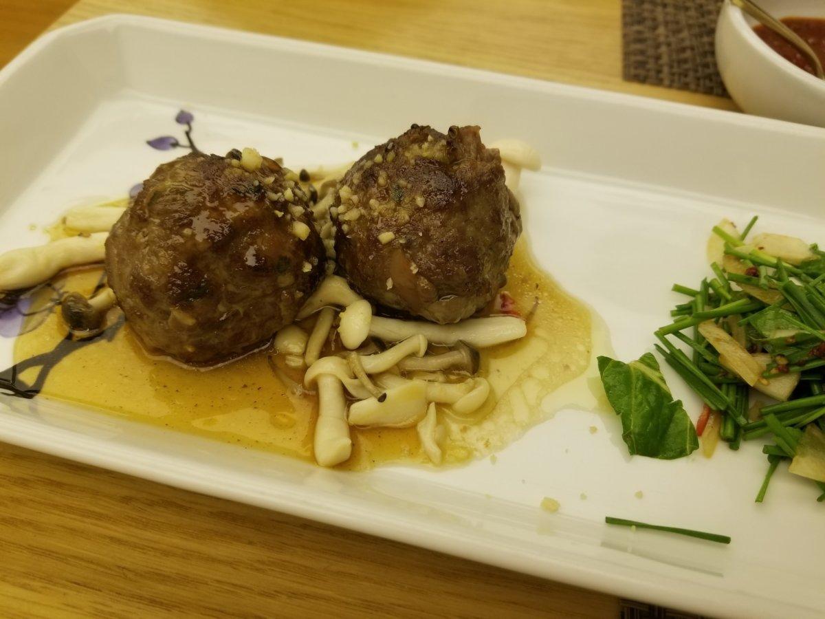 コリアハウス:肉団子