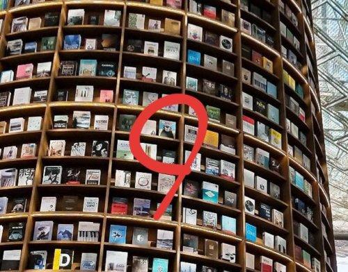 ピョルマダン図書館:くまモンが表紙になっている本を発見