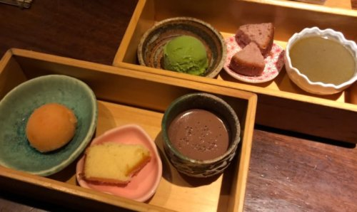 今彩:デザート6種