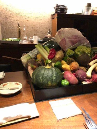 今彩:契約農家さんからのたくさんの野菜
