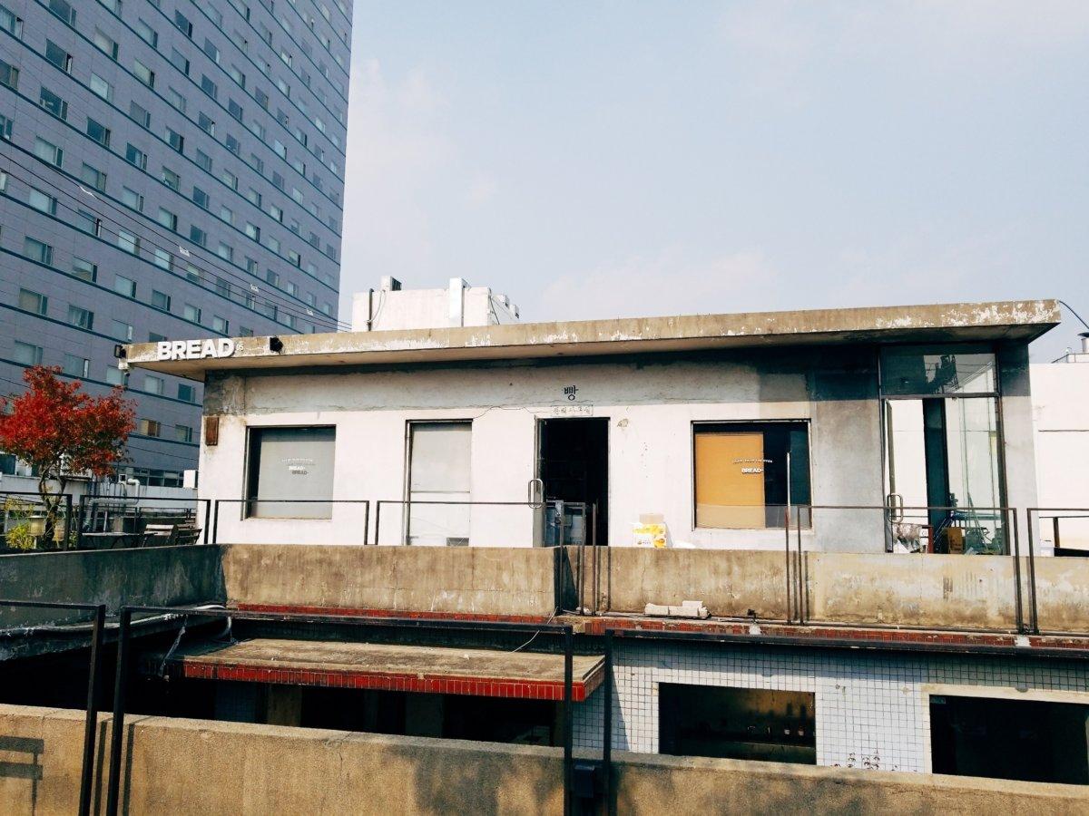 チャンミンゆかりのカフェcafeonion(カフェオニオン):屋上