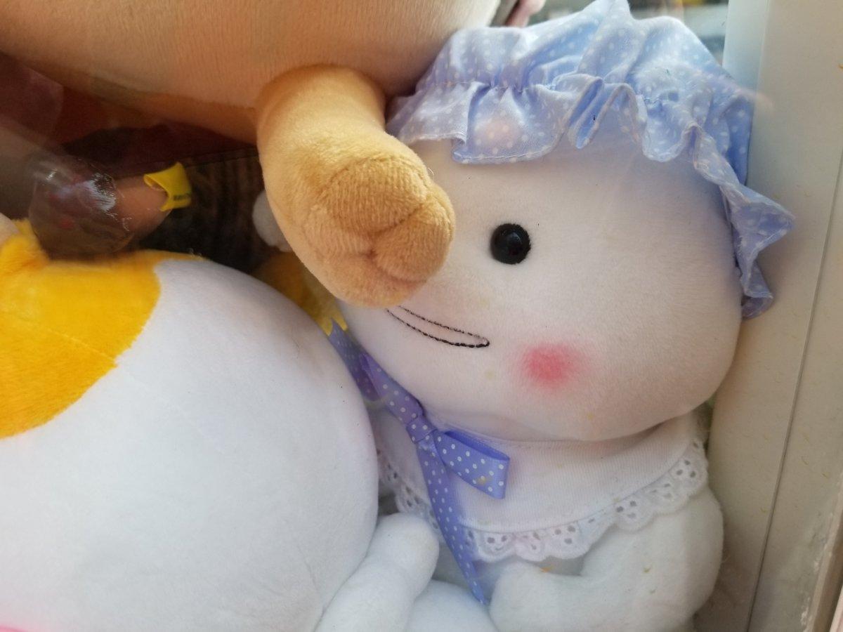 韓国のUFOキャッチャー:しぼうちゃん