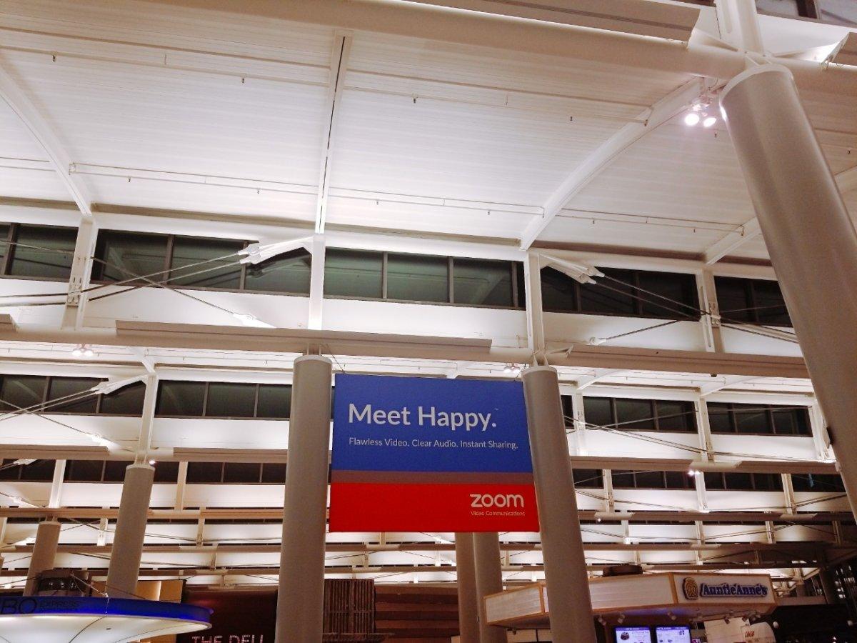 Zoomがアメリカは席巻してるのかしら?:WDW&UORアメリカ新婚旅行