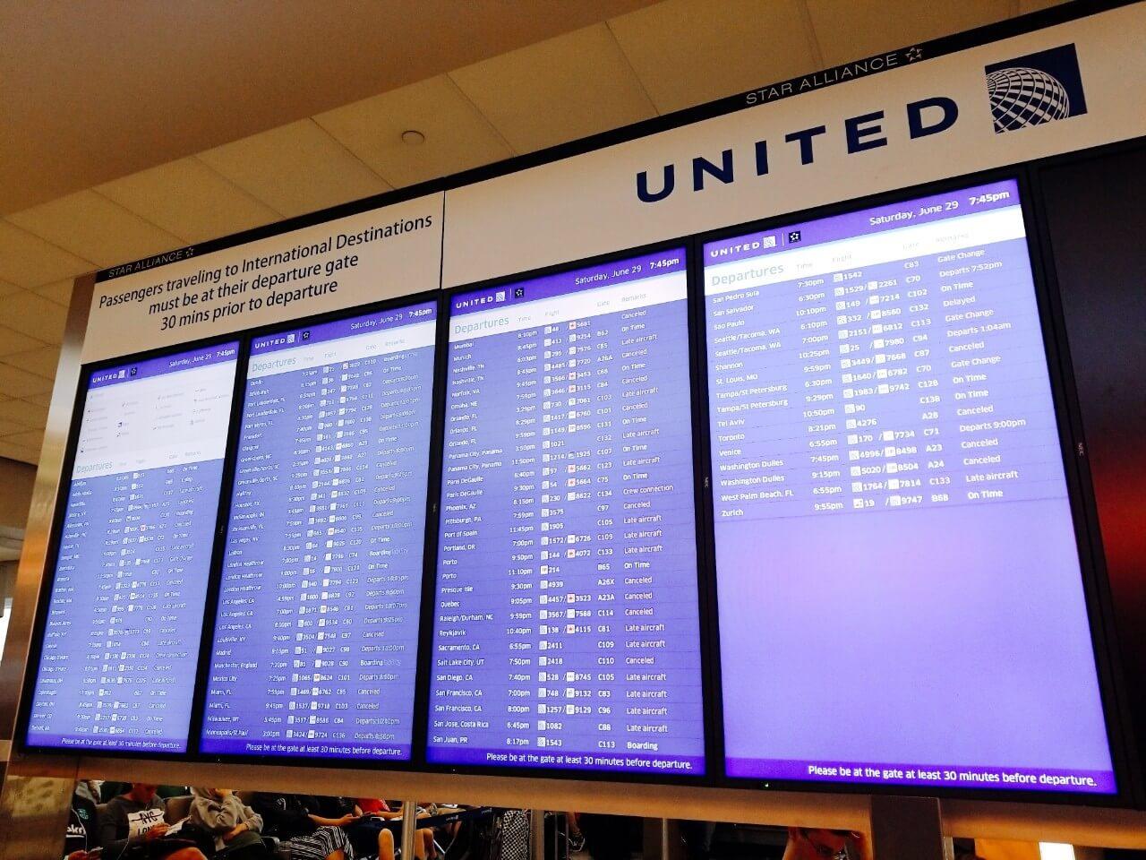 時刻表、要チェックや!::WDW&UORアメリカ新婚旅行