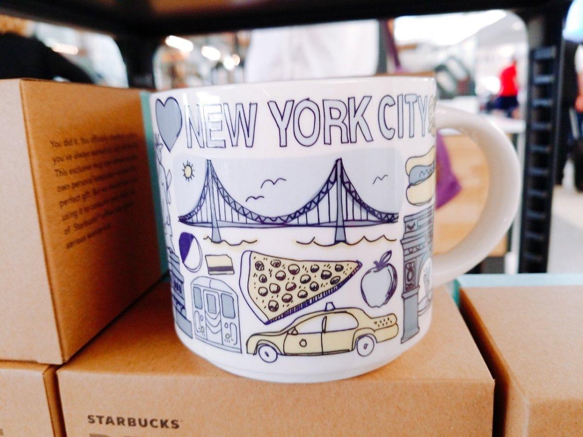 ニューヨーク限定のスタバマグ:WDW&UORアメリカ新婚旅行
