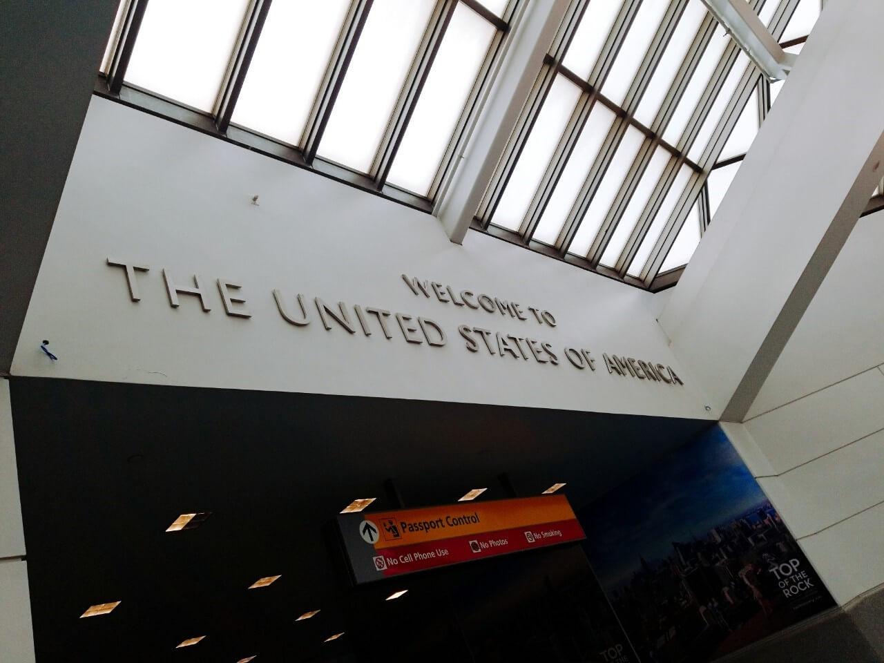 アメリカ合衆国へ入国:WDW&UORアメリカ新婚旅行