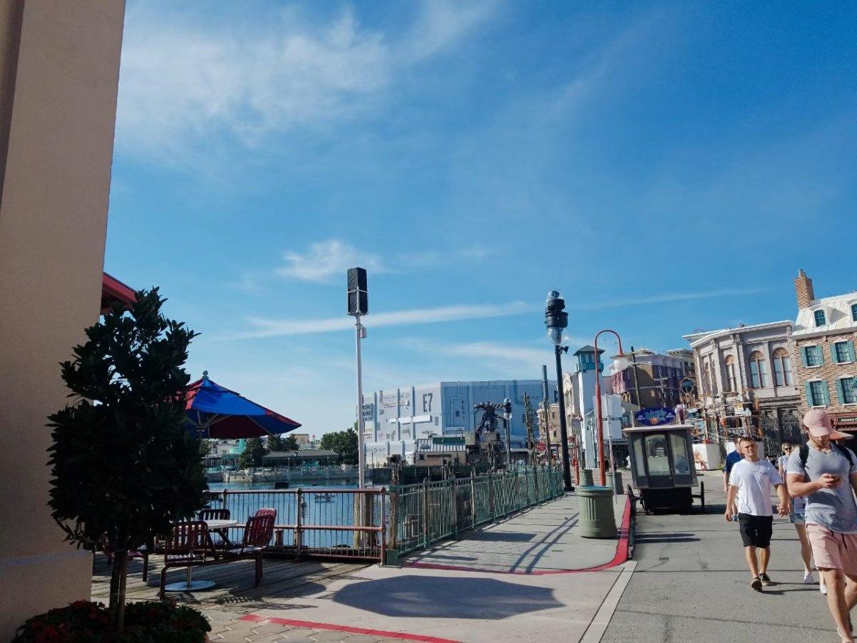 街並み&青空!:ユニバーサル・スタジオ・フロリダ