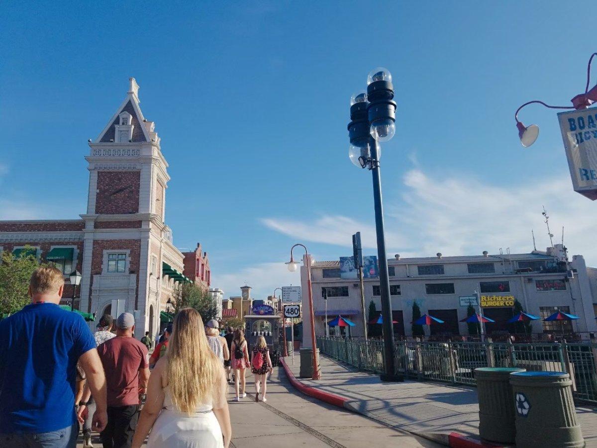 ハリポタエリアへGO!:ユニバーサル・スタジオ・フロリダ