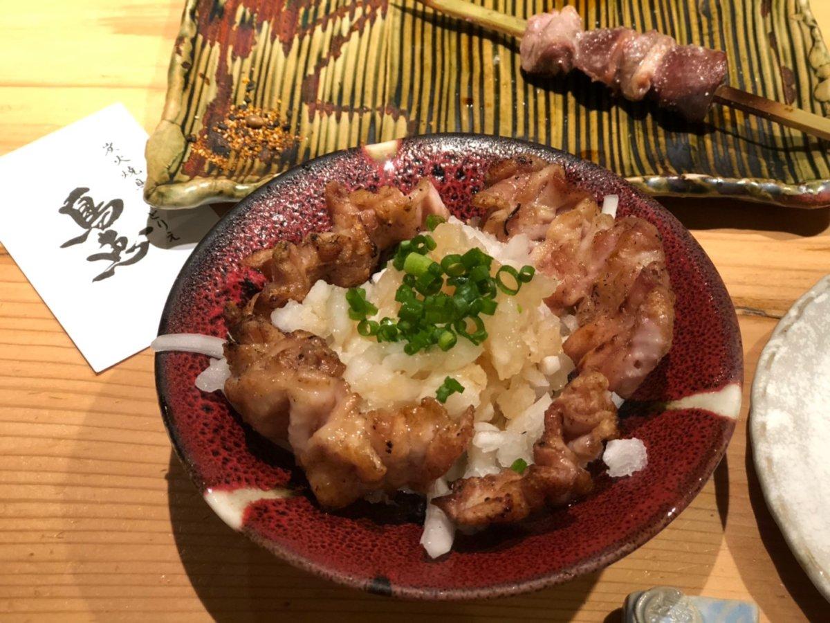 鳥恵:上野御徒町:鳥ネギポン酢