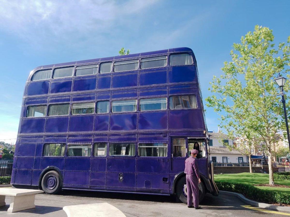 ナイトバス:ウェザーディング・ワールド・オブ・ハリー・ポッター