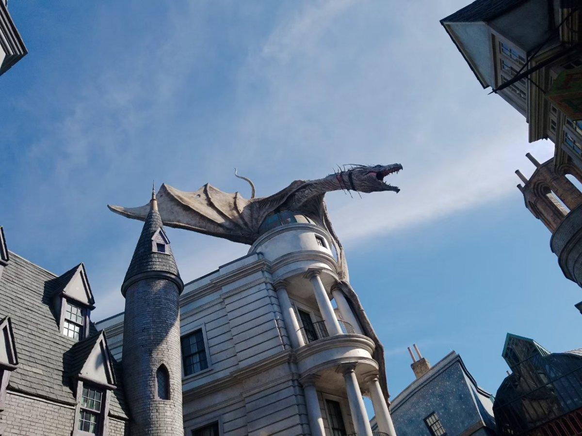 炎本当にでるのがすごい:ウェザーディング・ワールド・オブ・ハリー・ポッター