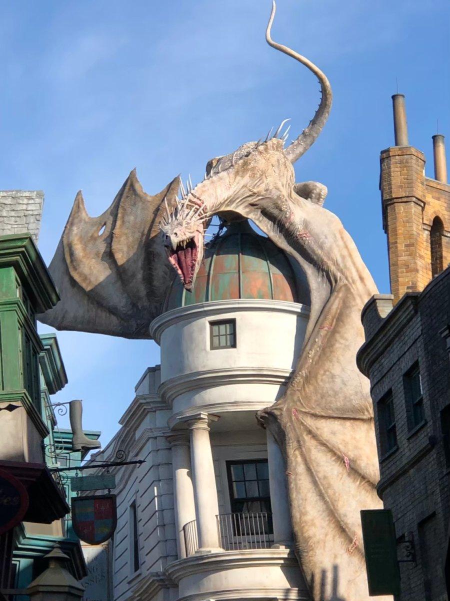 ドラゴンがかっこいい:ウェザーディング・ワールド・オブ・ハリー・ポッター