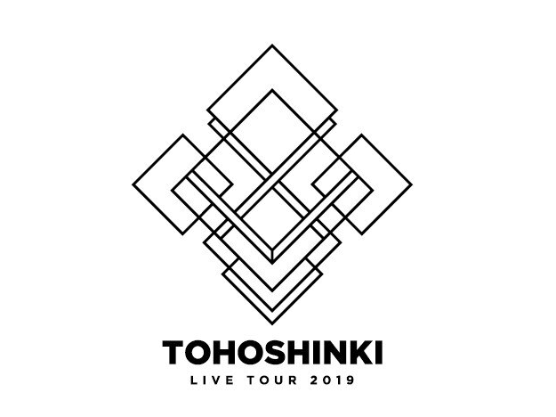 TOHOSHINKI(東方神起)ライブツアー2019:ツアーロゴ。