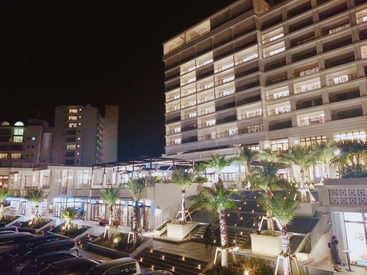 沖縄:マハイナホテルマハイナウェルネスリゾートオキナワ:2020年1月