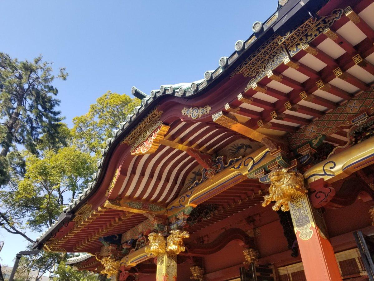 久しぶりの根津神社。