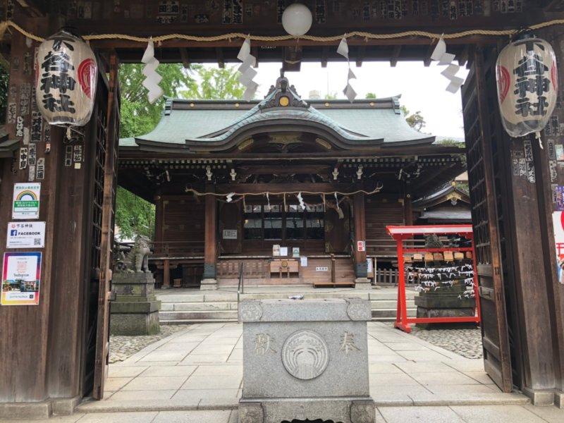 下谷神社:社殿