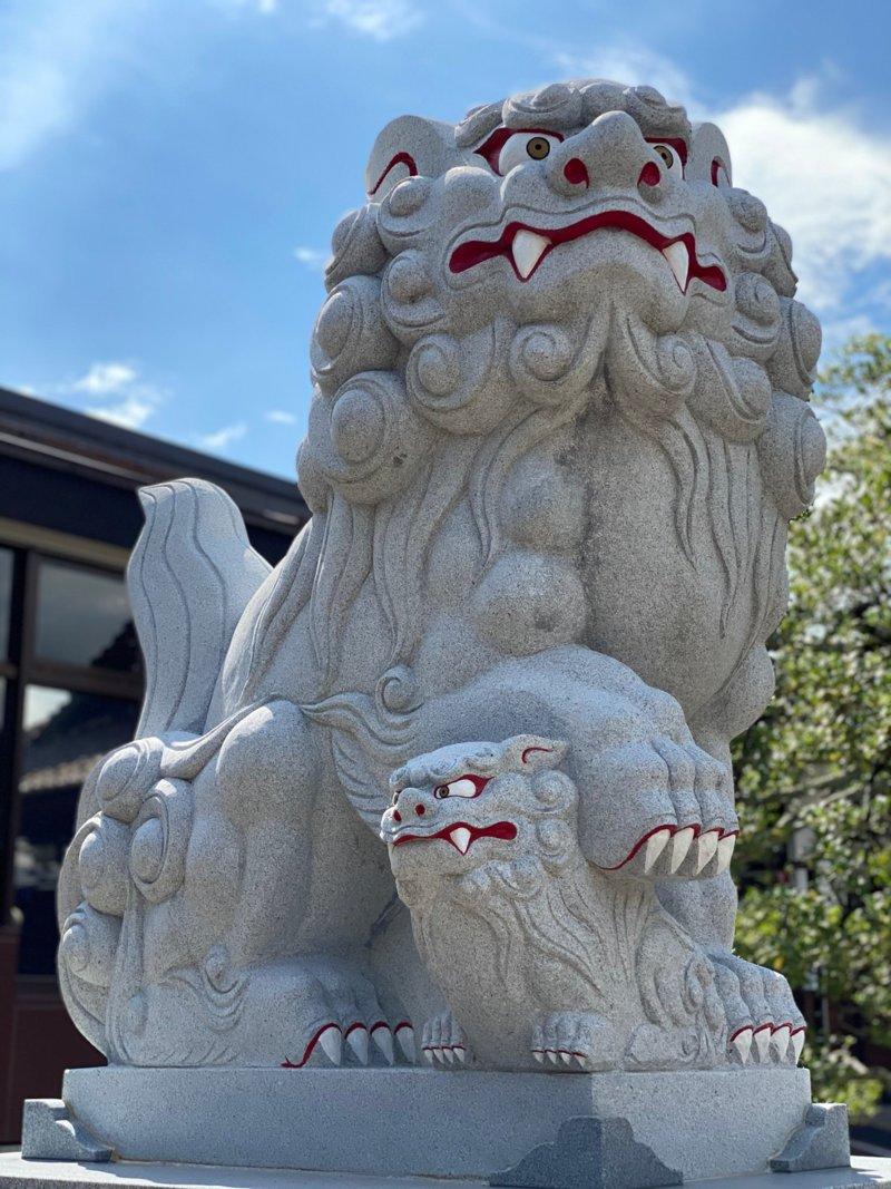 庄内神社:狛犬さん